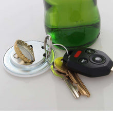 Load image into Gallery viewer, Designs by MyUtopia Shout Out:I Love My Dog Magnetic Key chain and bottle opener