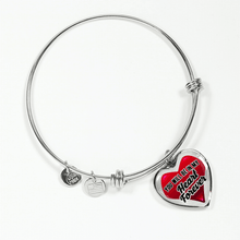 Load image into Gallery viewer, Designs by MyUtopia Shout Out:In My Heart Forever Bangle