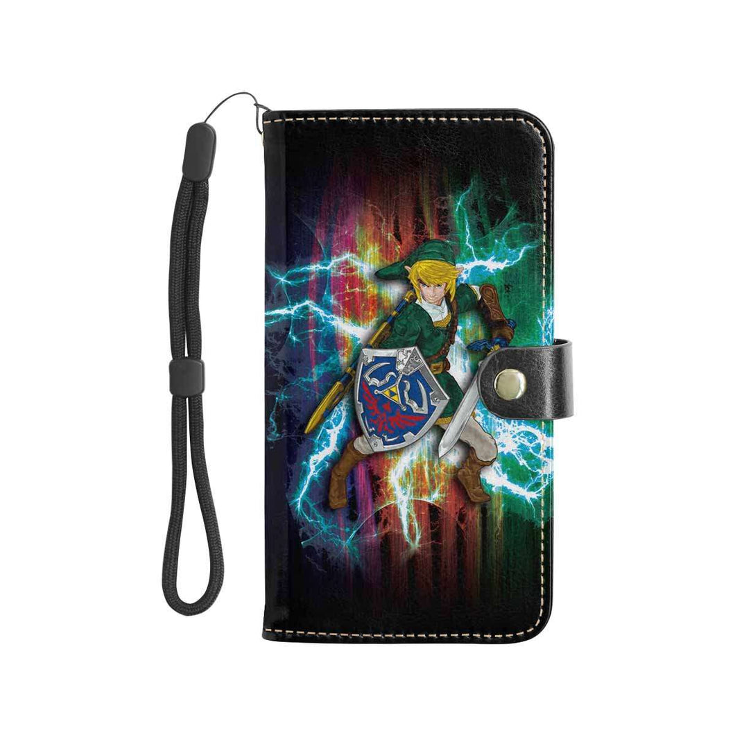 Designs by MyUtopia Shout Out:Inspired by Legends of Zelda Video Game Fan Art Smartphone Wallet case
