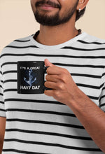 Load image into Gallery viewer, Designs by MyUtopia Shout Out:It's A Great Navy Day Ceramic Coffee Mug