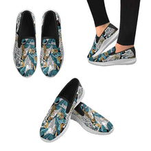 Load image into Gallery viewer, Designs by MyUtopia Shout Out:Jungle Leopards slip-on sneakers