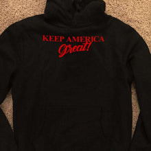 Load image into Gallery viewer, Designs by MyUtopia Shout Out:Keep America Great Core Fleece Pullover Hoodie