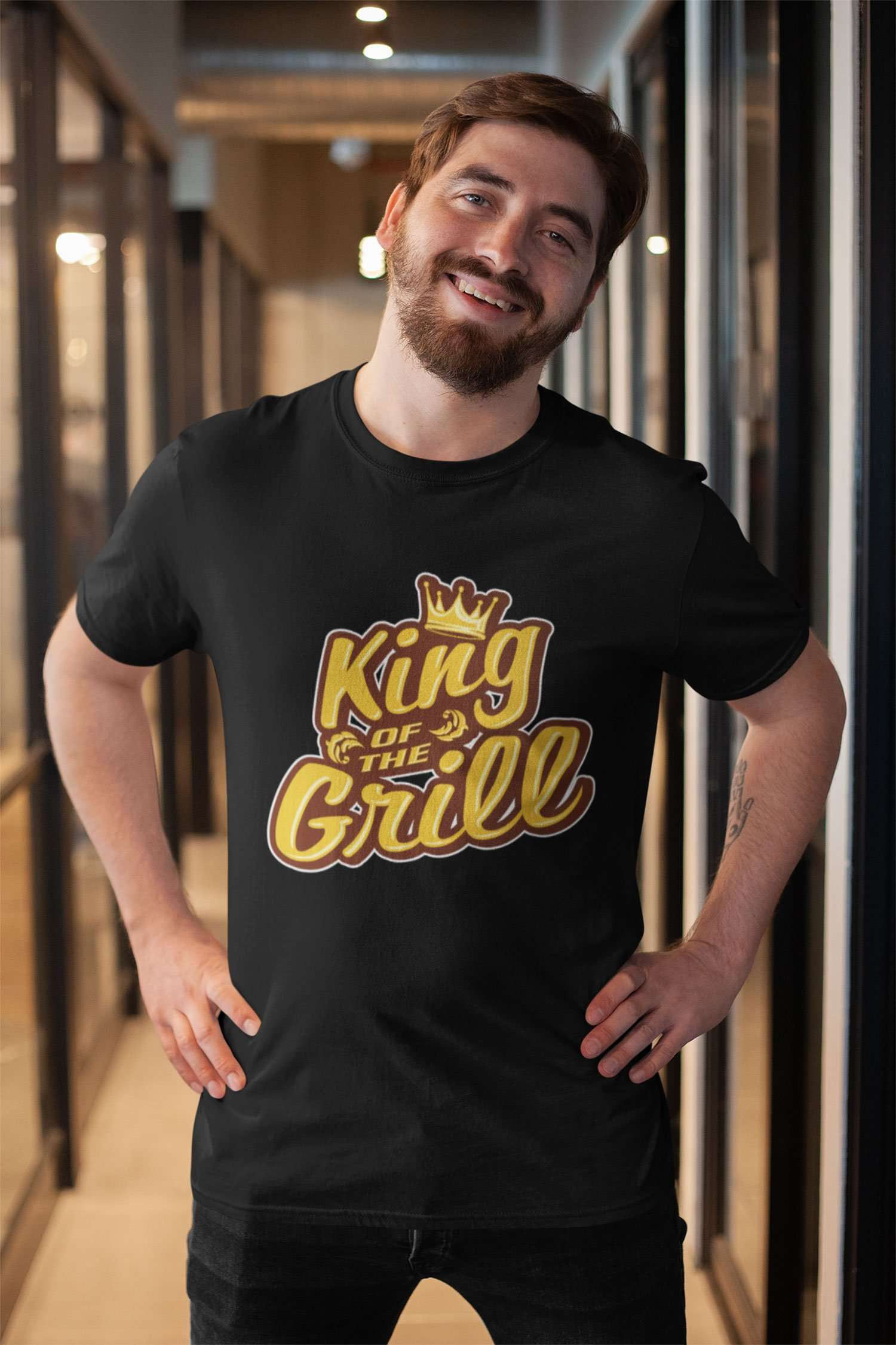 Designs by MyUtopia Shout Out:King of the Grill Ultra Cotton T-Shirts