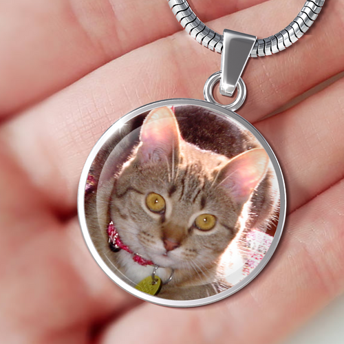 Designs by MyUtopia Shout Out:Kitten Love Handmade Necklace