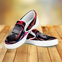 Load image into Gallery viewer, Designs by MyUtopia Shout Out:Kylo Ren Slip-on Sneaker Shoes