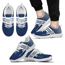 Load image into Gallery viewer, Designs by MyUtopia Shout Out:#LetsGetRowdy Dallas Fan Running Shoes v.2