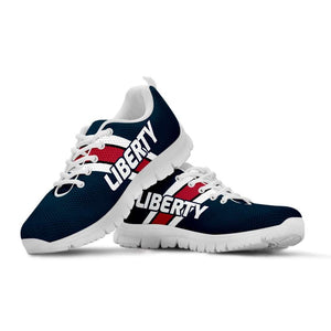 Designs by MyUtopia Shout Out:Liberty Fan Running Shoes,Kid's / 11 CHILD (EU28) / Navy Blue/Red/White,Running Shoes