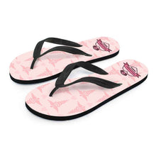 Load image into Gallery viewer, Designs by MyUtopia Shout Out:Mississippi Nurse Flip-Flops Pink