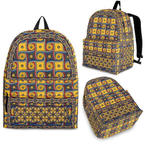 Designs by MyUtopia Shout Out:My Happy Place Galifrey One Carpet Custom Backpack