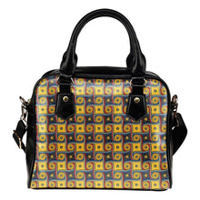 Load image into Gallery viewer, Designs by MyUtopia Shout Out:My Happy Place Galifrey One Carpet Vegan Leather Handbag