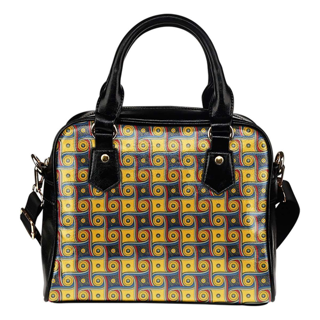 Designs by MyUtopia Shout Out:My Happy Place Galifrey One Carpet Vegan Leather Handbag