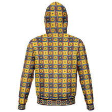 Load image into Gallery viewer, Designs by MyUtopia Shout Out:My Happy Place Gallifrey One Carpet Fashion Zip Hoodie