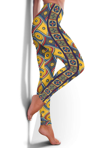 Designs by MyUtopia Shout Out:My Happy Place Gallifrey One High Waist Fashion Yoga Fitness Leggings