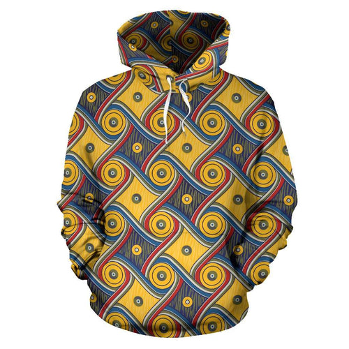 Designs by MyUtopia Shout Out:My Happy Place Gallifrey One Pullover Hoodie,Men's / S / Multicolor,Pullover Hoodie