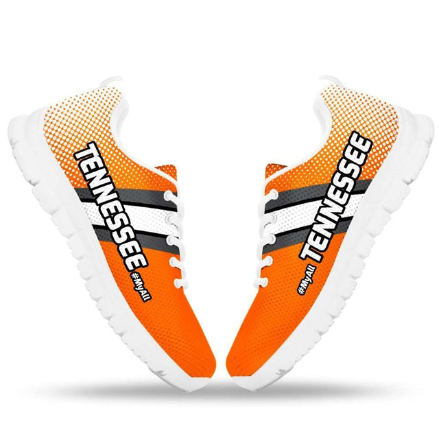 Designs by MyUtopia Shout Out:#MyAll Tennessee Volunteers Fan Running Shoes