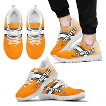Load image into Gallery viewer, Designs by MyUtopia Shout Out:#MyAll Tennessee Volunteers Fan Running Shoes
