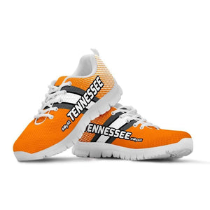 Designs by MyUtopia Shout Out:#MyAll Tennessee Volunteers Fan Running Shoes,Mens US5 (EU38) / Orange,Running Shoes