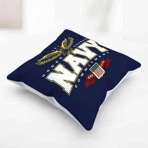 Designs by MyUtopia Shout Out:Navy Wings Pillowcase