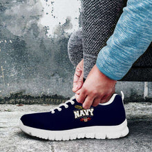 Load image into Gallery viewer, Designs by MyUtopia Shout Out:Navy Wings Running Shoes