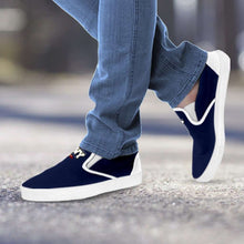 Load image into Gallery viewer, Designs by MyUtopia Shout Out:Navy Wings Slip-on Shoes
