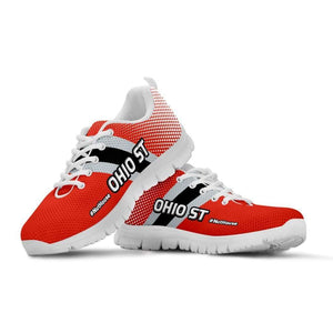 Designs by MyUtopia Shout Out:#Nuthouse Ohio State Fan Running Shoes,Kid's / 11 CHILD (EU28) / Orange,Running Shoes