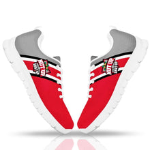 Load image into Gallery viewer, Designs by MyUtopia Shout Out:#NutUpOrShutUp Ohio State Fan Running Shoes