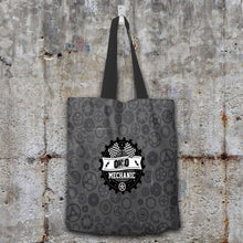 Load image into Gallery viewer, Designs by MyUtopia Shout Out:Ohio Mechanic Fabric Totebag Reusable Shopping Tote