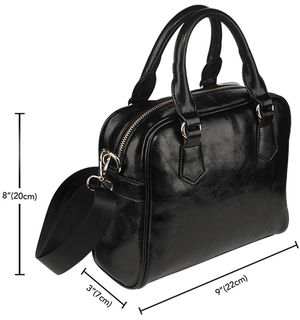Designs by MyUtopia Shout Out:Ohio Mechanic Faux Leather Handbag with Shoulder Strap