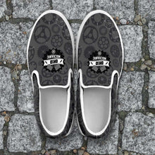 Load image into Gallery viewer, Designs by MyUtopia Shout Out:Ohio Mechanic Slip-on Shoes
