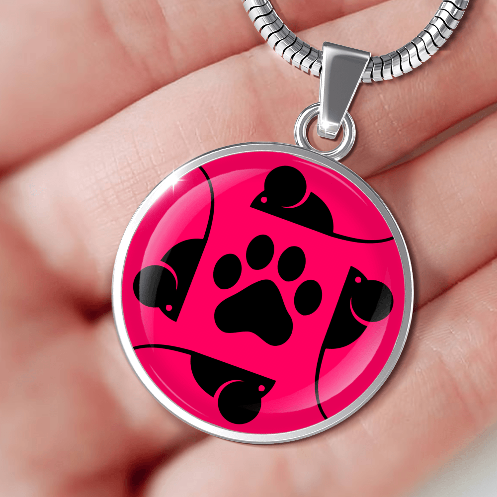Designs by MyUtopia Shout Out:Pink Cat, Mouse and Paw print