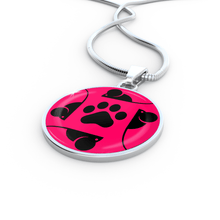 Load image into Gallery viewer, Designs by MyUtopia Shout Out:Pink Cat, Mouse and Paw print