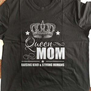 Designs by MyUtopia Shout Out:Queen Mom Adult Unisex T-Shirt
