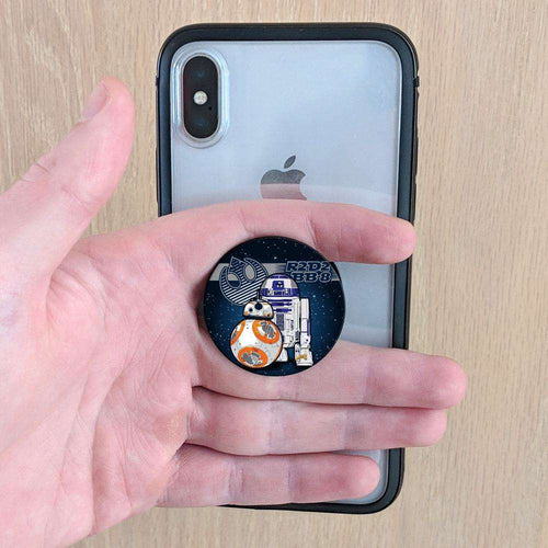Designs by MyUtopia Shout Out:R2-D2 and BB-8 Fan Pop-out Phone Grip for Smartphones and Tablets