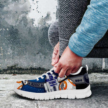 Load image into Gallery viewer, Designs by MyUtopia Shout Out:R2-D2 and BB8 As Friends Running Shoes