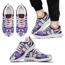 Load image into Gallery viewer, Designs by MyUtopia Shout Out:R2-D2 Running Shoes - Blue / Pink
