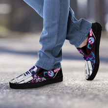 Load image into Gallery viewer, Designs by MyUtopia Shout Out:R2-D2 Slip-on Shoes Blue / Pink