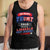 Designs by MyUtopia Shout Out:Re-Elect Trump Make Liberals Cry Cotton Unisex Tank Top,Black / X-Small,Tank Tops