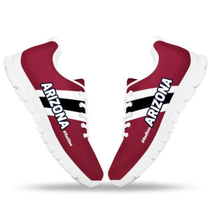Designs by MyUtopia Shout Out:#RedSea Arizona Cardinals Fan Running Shoes