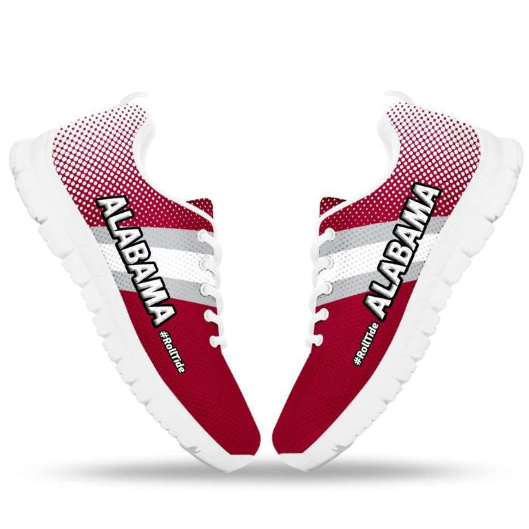 Designs by MyUtopia Shout Out:#RollTide Alabama Fan Running Shoes