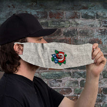 Load image into Gallery viewer, Designs by MyUtopia Shout Out:Rose US Flag Fabric Face Covering / Face Mask