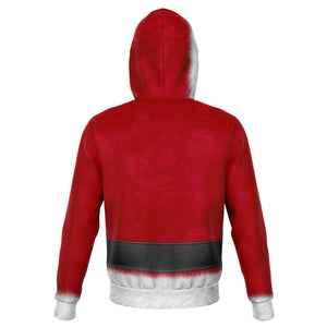 Designs by MyUtopia Shout Out:Santa Costume Premium Fashion Hoodie