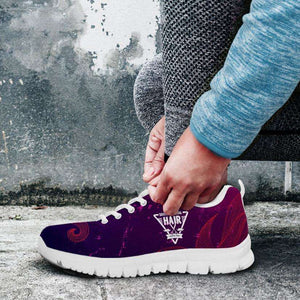 Designs by MyUtopia Shout Out:SC Hairdresser Running Shoes,Women's / Ladies US5 (EU35) / Purple,Running Shoes