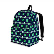 Load image into Gallery viewer, Designs by MyUtopia Shout Out:Seattle Nurse Backpack,Large (18 x 14 x 8 inches) / Adult (Ages 13+) / Dark Green/Lime,Backpacks