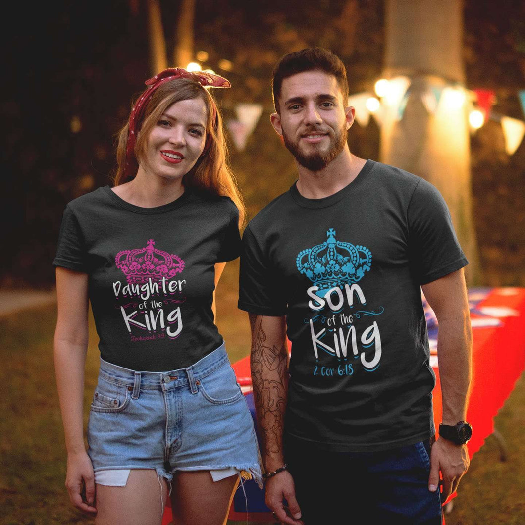 Designs by MyUtopia Shout Out:Son / Daughter of the King Adult Unisex T-Shirt