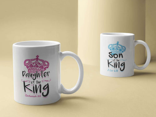 Designs by MyUtopia Shout Out:Son / Daughter of the King Coffee Mug
