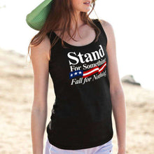 Load image into Gallery viewer, Designs by MyUtopia Shout Out:Stand For Something Fall For Nothing Trump Unisex Tank