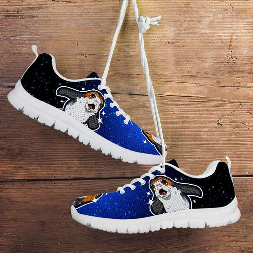 Designs by MyUtopia Shout Out:Star Wars Porg Running Shoes,Kid's / 11 CHILD (EU28) / Blue/Black,Running Shoes