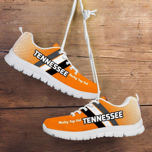 Designs by MyUtopia Shout Out:Tennessee Volunteers Basketball Fans Running Shoes