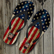 Load image into Gallery viewer, Designs by MyUtopia Shout Out:Texas Strong Flip-Flops