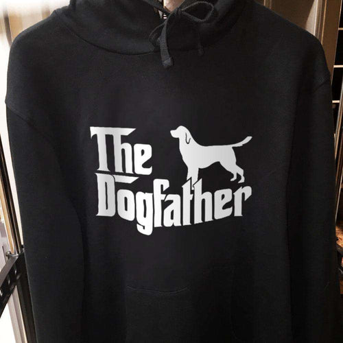 Designs by MyUtopia Shout Out:The Dog Father Core Fleece Pullover Hoodie